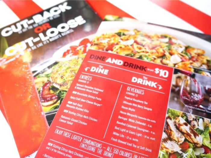 Dine and Drink at TGI Fridays