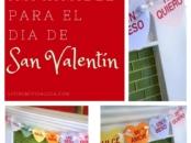 """Para crear la bandera como lo ven, sólo tiene que imprimir su bandera imprimible gratis de Día de San Valentín sobra cartulina de colores claros, similar a los colores de los """"conversation hearts."""" Siéntase libre para jugar con los colores también – tal vez colores neón? - LivingMiVidaLoca.com #DiadeSanValentin #spanishprintable"""