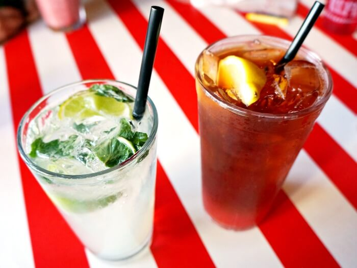 House Mojito and Tropical Tea at TGI Fridays