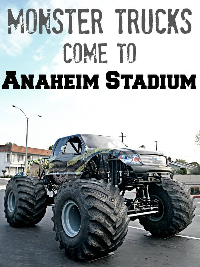 Monster Trucks at Anaheim Stadium