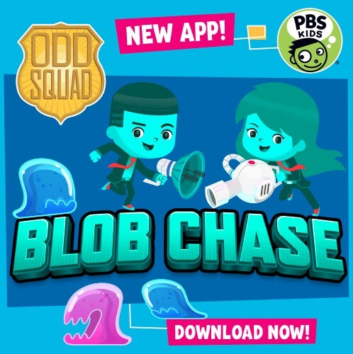 Odd Squad Blob Chase app