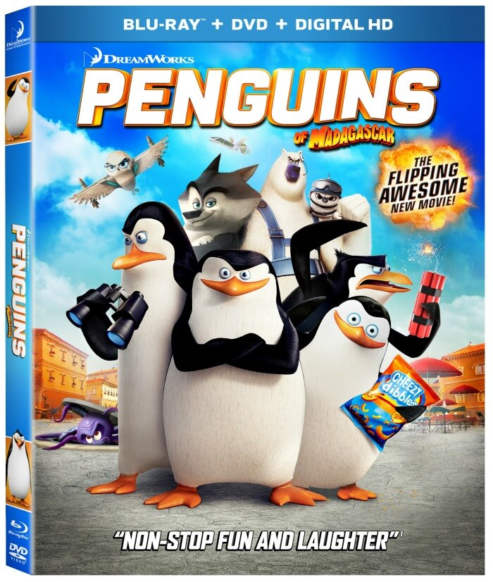Penguins of Madagascar Activity Sheets