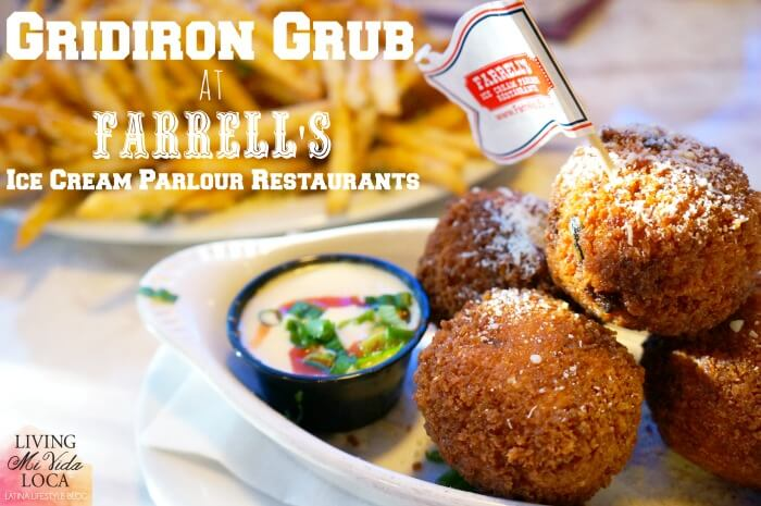 Gridiron Grub at Farrell's Ice Cream Parlour