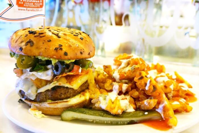 Tailgate burger