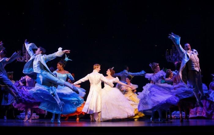 Cinderella dancing at the ball
