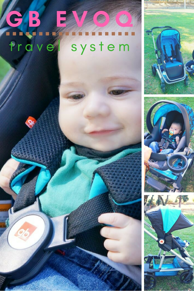 GB Evoq baby stroller review