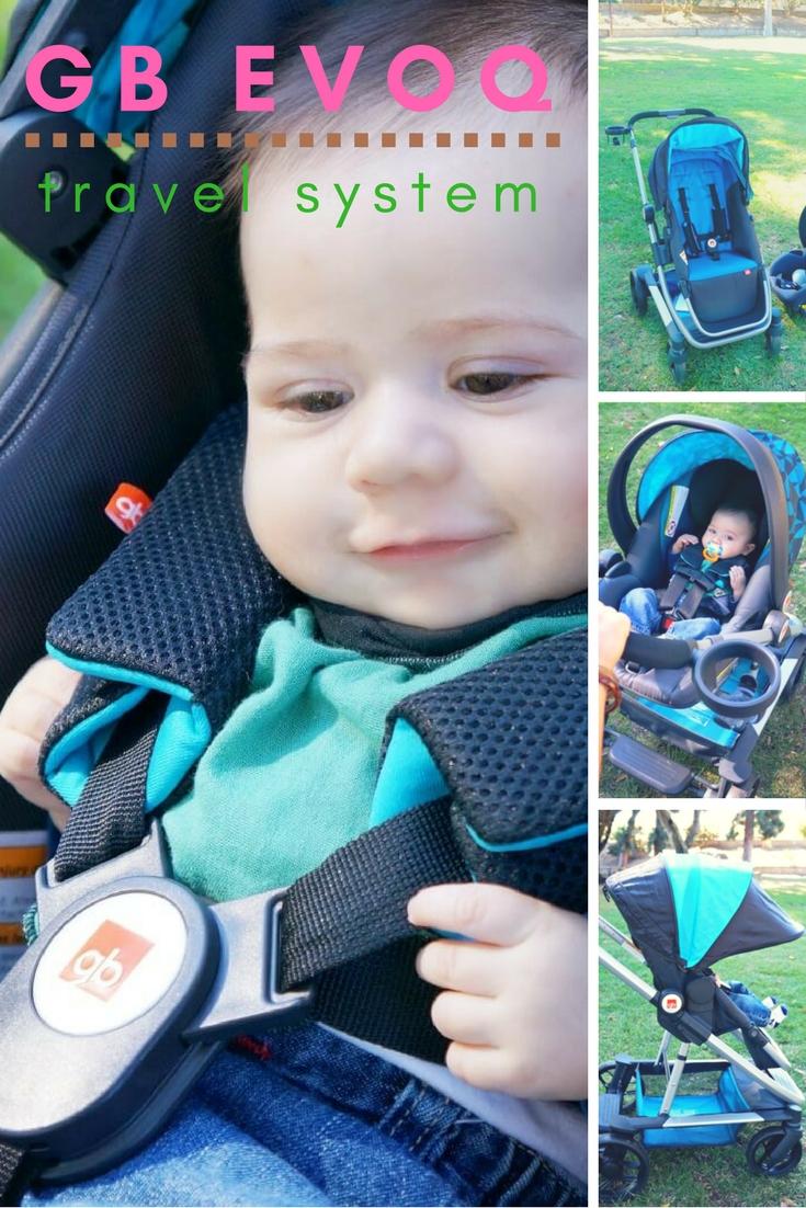 GB Evoq baby stroller review