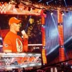 John Cena at WWE Monday Night Raw