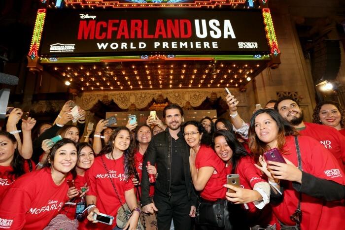 Juanes at McFarland USA event