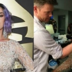 Katy Perry's Signature Cat Eye at the 2015 GRAMMYs