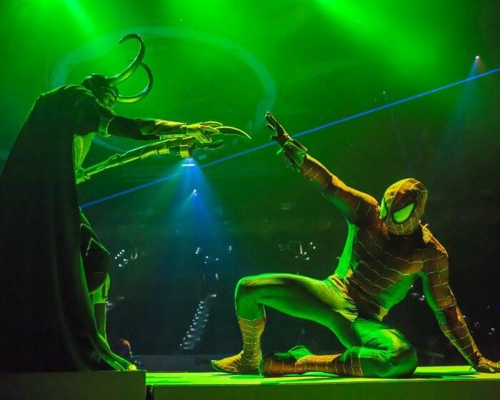 Loki and Spiderman