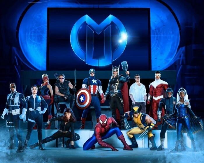 Cast of Marvel Universe Live!