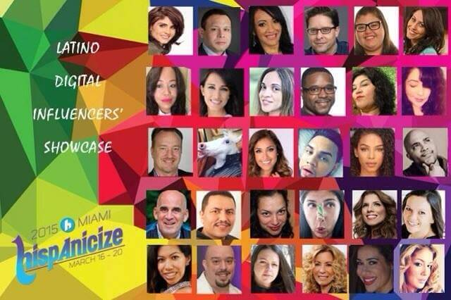 top digital influencers for hispanicize