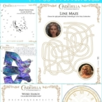 Free Cinderella movie printables inspired by Cinderella