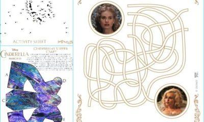 Free Cinderella movie printables inspired by Cinderella