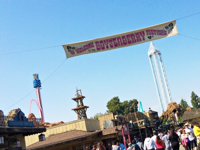 Boysenberry Festival at Knott's Berry Farm in Buena Park, California