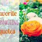 favorite empowering quotes