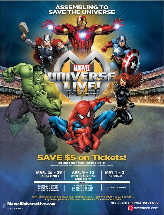 Marvel Universe Live discount code