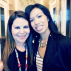 Nely Galan and Pattie Cordova at Hispanicize 2012