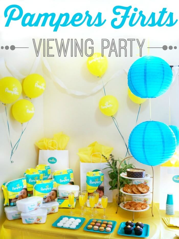 Pampers Firsts Viewing Party