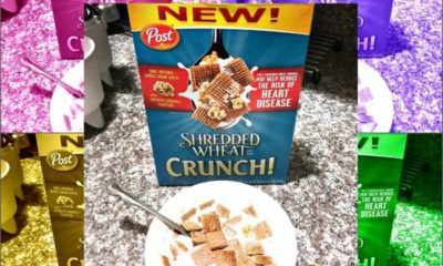 Post Shredded Wheat Crunch! Cereal