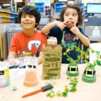 St. Patrick's Day leprechaun hats craft
