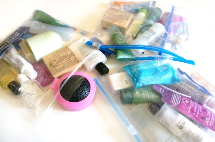 toiletries bags for homeless people