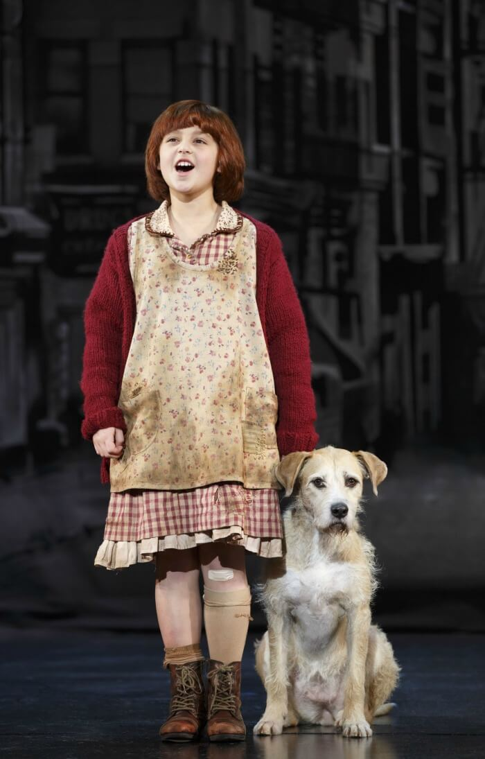Annie the Musical at Segerstrom Center in Costa Mesa