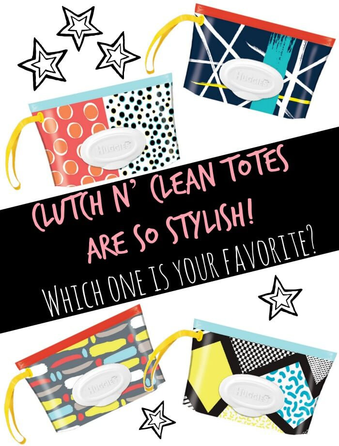 clutch n clean totes for HUGGIES wipes