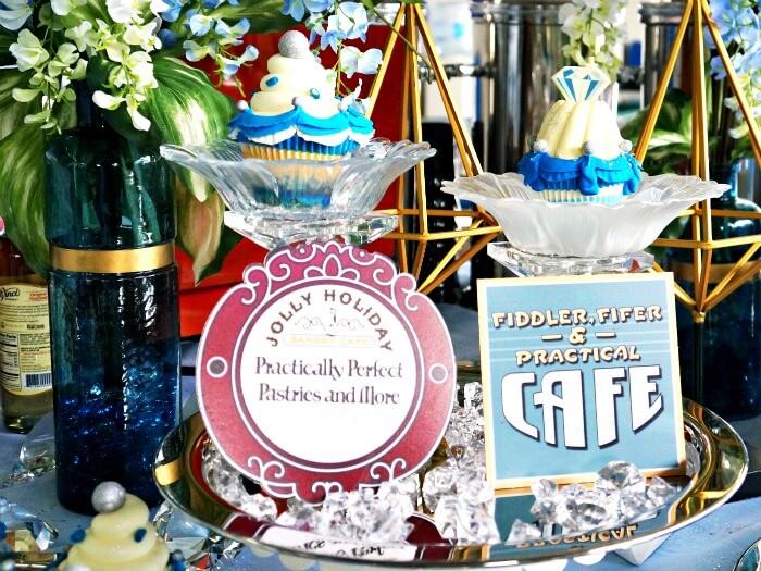 Disneyland and Disney California Adventure cupcakes
