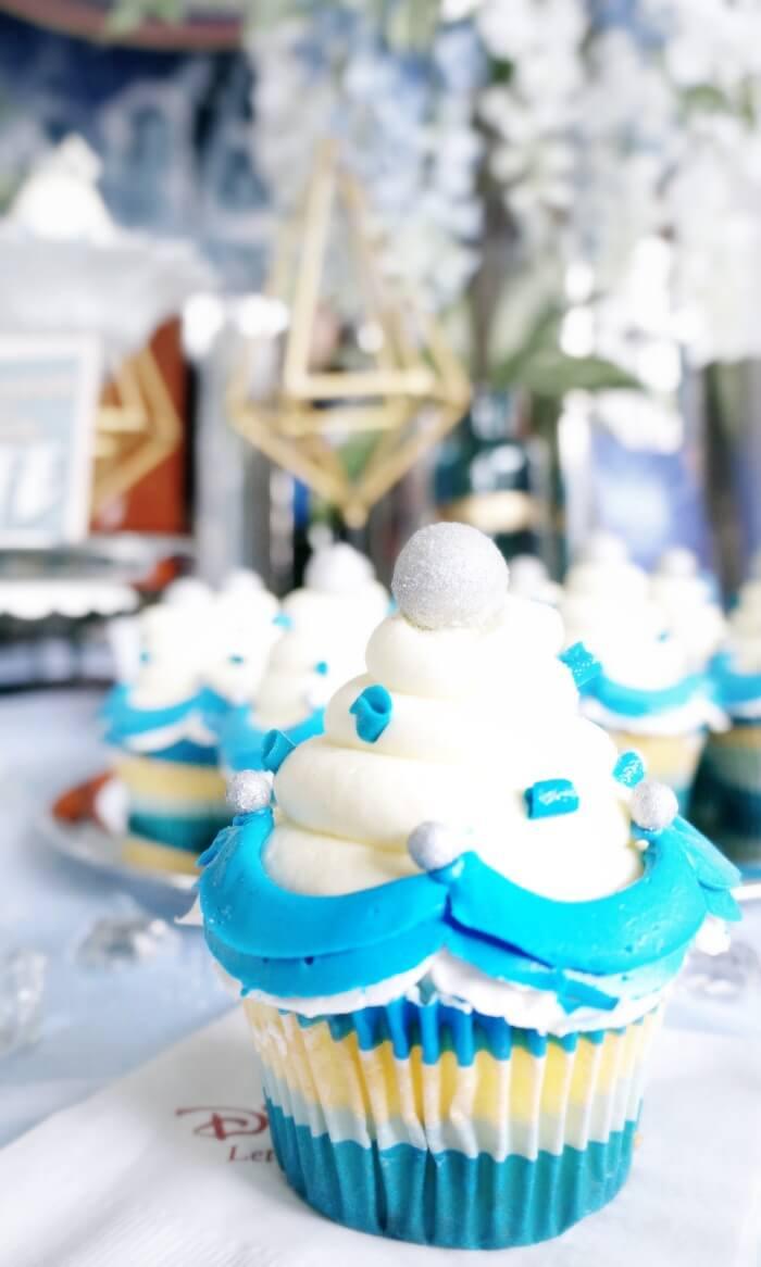 Disneyland Diamond Celebration cupcake