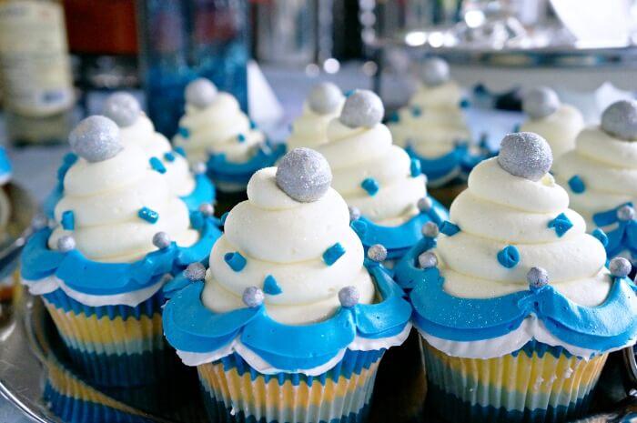 Diamond Celebration Cupcakes At Disneyland Resort