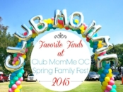 Favorite products at Club MomMe Spring Family Fest 2015