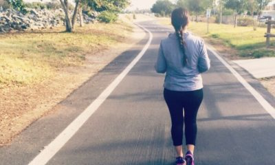 Latina mom training to run a marathon