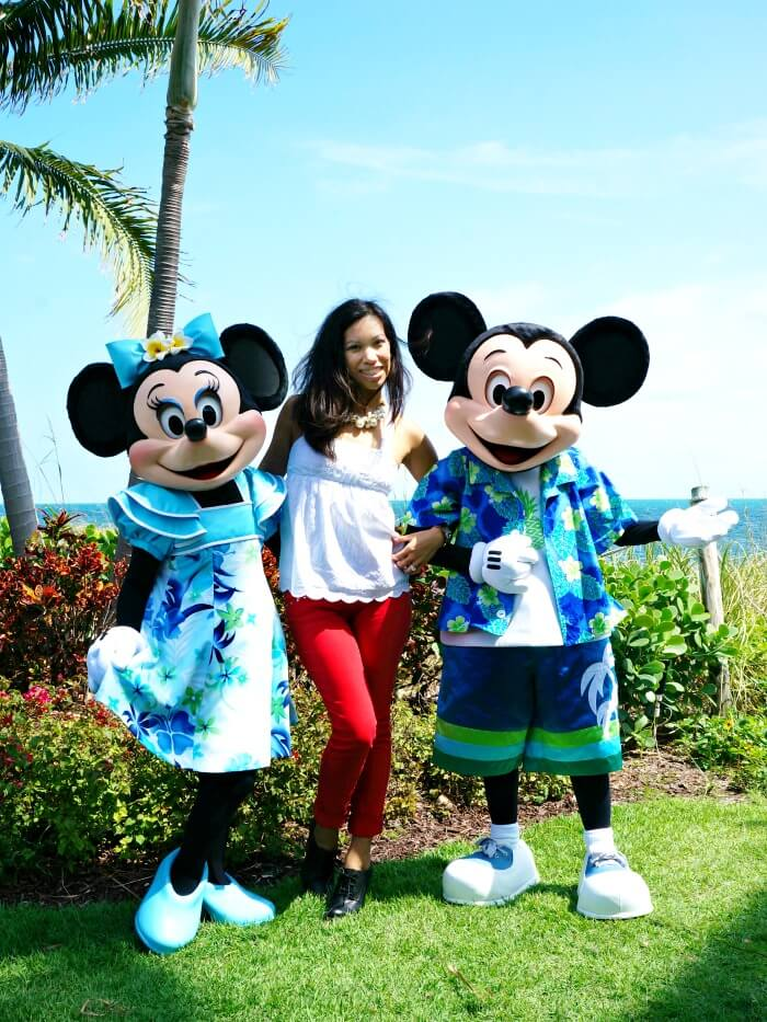 Mickey Mouse and Minnie Mouse in Miami, Florida