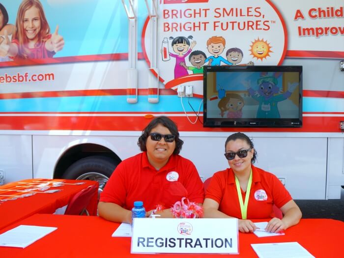 Bright Futures mobile dental van