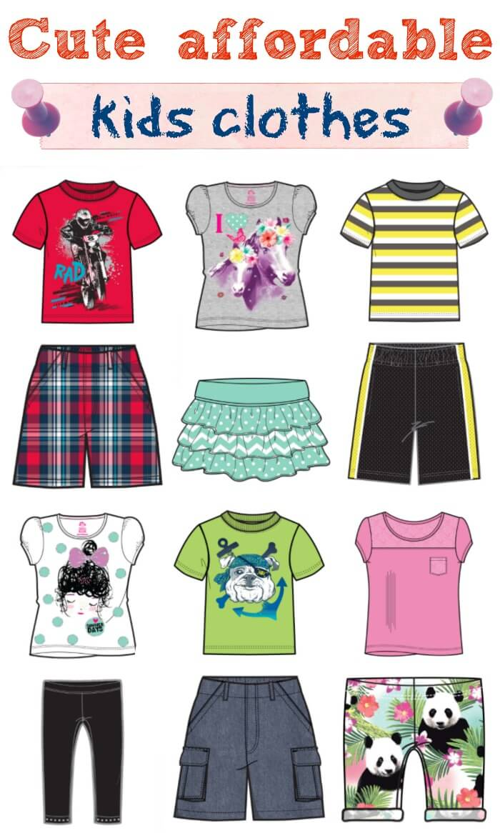 Affordable kids clothes and tips for dressing kids for play