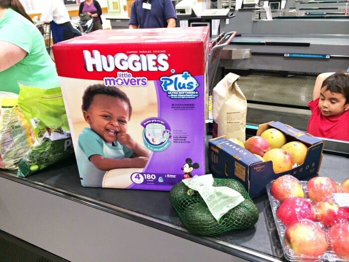Try Huggies most absorbent diapers for day & night protection, exclusively at Costco