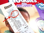 Huggies diapers coupon at Costco