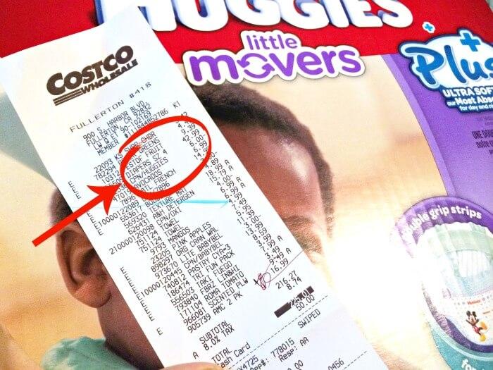 Huggies diapers coupon at Costco