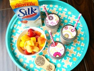 Easy vegan breakfast smoothie