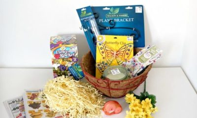 Gardening gift basket idea