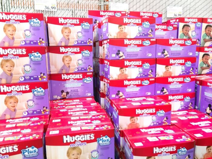 New! Huggies Little Snugglers Plus Diapers AND New! Huggies Little Movers Plus Diapers provide ultra softness for baby's delicate skin, exclusively at Costco