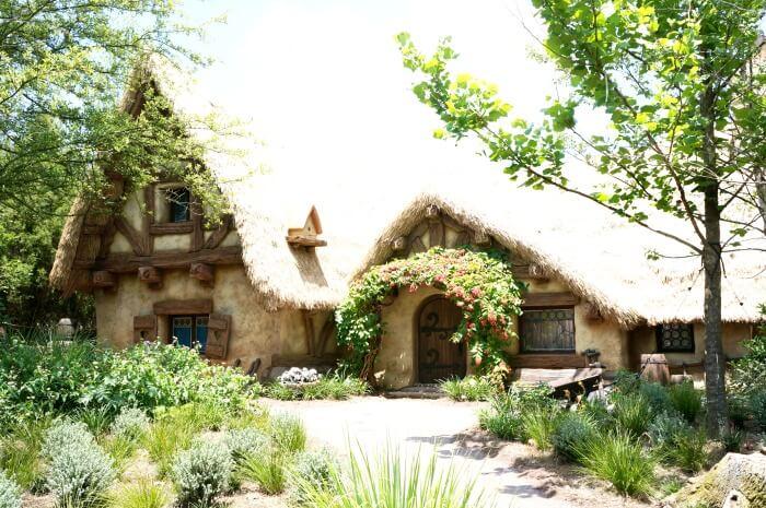 Seven Dwarfs Mine Train cottage