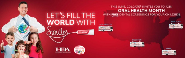 Colgate Oral Health Month events