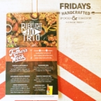 Father's Week specials at TGI Fridays