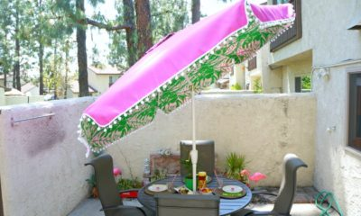 Lilly Pulitzer umbrella from Lilly x Target collection