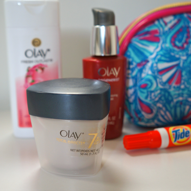 Olay total effects night moisturizer