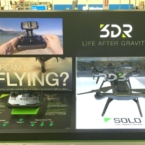 SOLO smart drone display at Best Buy