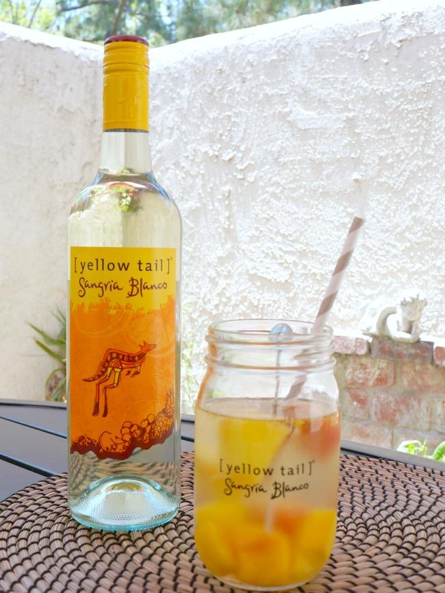 tropical fruit vodka sangria